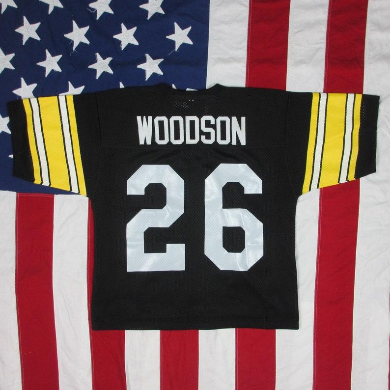 da854c28d Vintage 1980 s Rod Woodson Pittsburgh Steelers Jersey