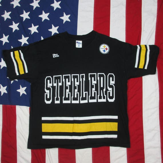 71bc8d724f5 Vintage 1990 s Pittsburgh Steelers Kordell Stewart Jersey