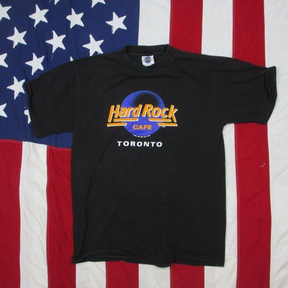 df331ba8 Vintage 1980's Hard Rock Cafe Toronto Canada Graphic | Etsy