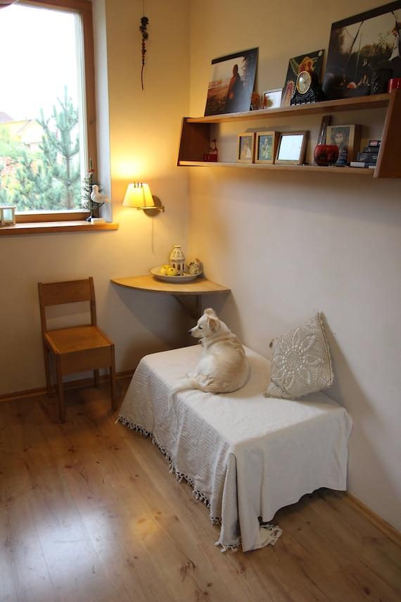 Wand Ecke Schreibtisch An Der Wand Klapptisch Tisch Etsy