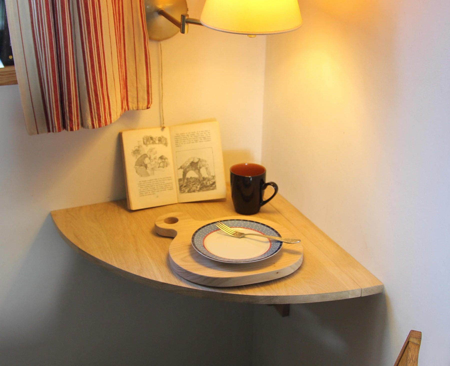 Kleine Ecke Schreibtisch Tropfenblatt Ecke Tisch Wand