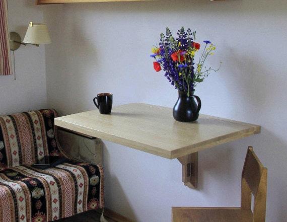 Tropfenblatt Tisch Kleine Küche Ideen Wand Montiert Tisch | Etsy