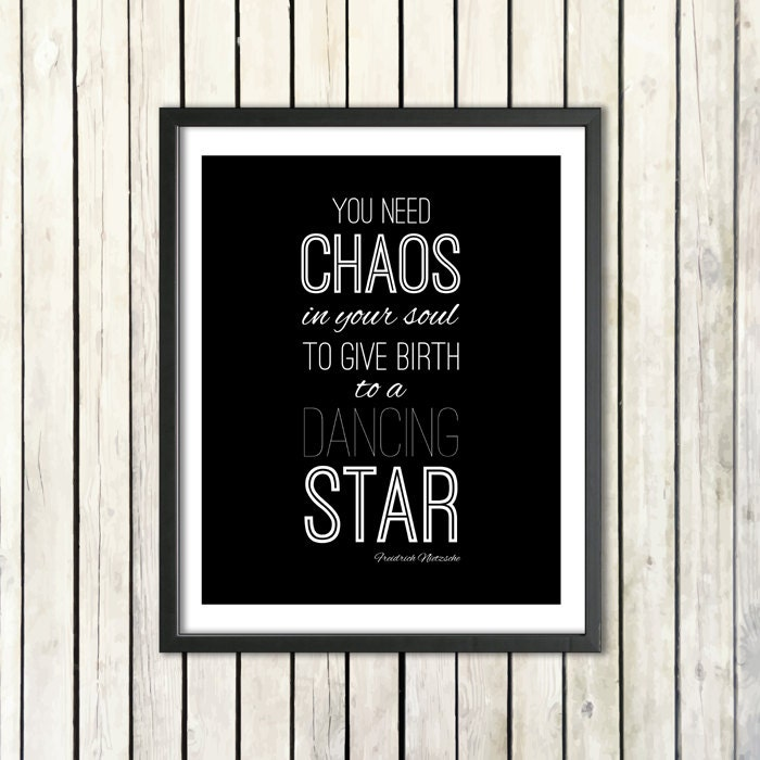 Friedrich Nietzsche Printable Quote Poster You Need Etsy