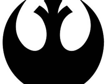 Rebel Alliance Star Wars Decal Sticker