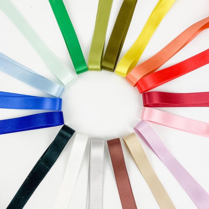 100/% Silk Ribbon by the yard  Luxury Silk Ribbons