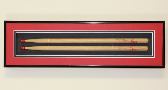 Diy Drum Stick Frame Display Available In 11 Colors 2 Etsy