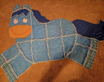 Rag horse blanket- you choose the colors