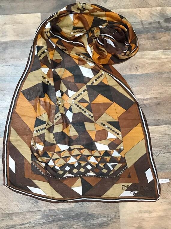 Emilio Pucci Firenze scarf