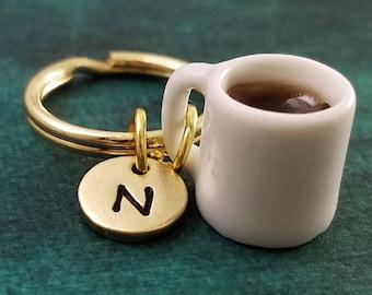 Antique Silver 3D Charm Coffee Charm Coffee Addict Gift Caffeine Gift Coffee Jewelry Miniature Coffee Cup