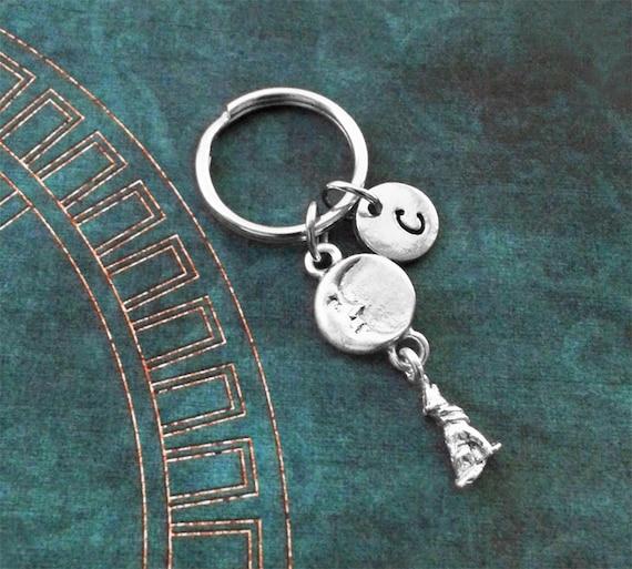 Wolf Keychain VERY SMALL Werewolf Keychain Personalized  f1ca43191a