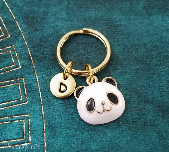 Panda Keychain SMALL Panda Bear Keychain Panda Keyring Teenage  836b91c44c