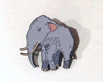 Woolly Mammoth 1.25 Inch Enamel Pin