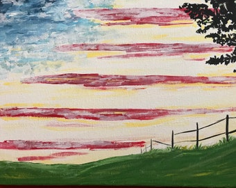 The American Sky and Landscape
