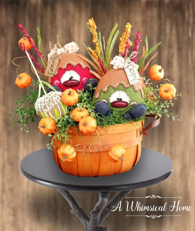 WHIMSICAL FALL CENTERPIECE  Halloween Centerpiece  Fall image 0