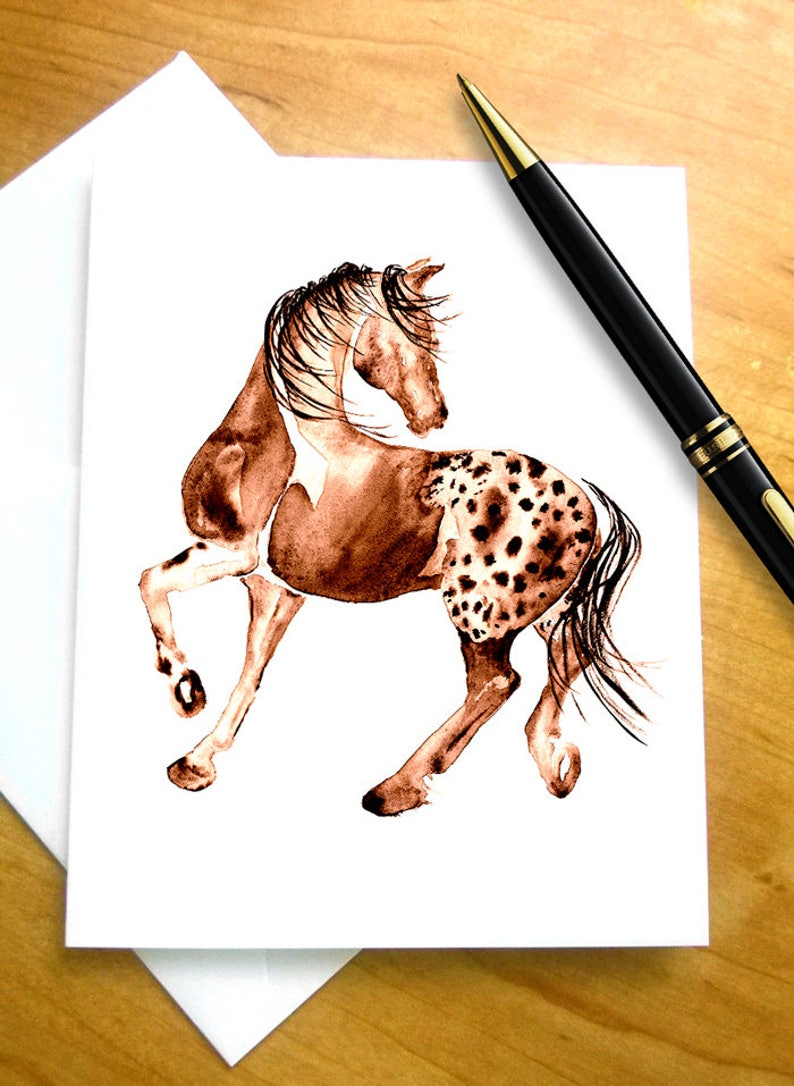 Horse Birthday Card For Lover Appaloosa Greeting