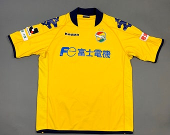 fb96997f8 Vtg 90s KAPPA Japan Retro Soccer Jersey J-League Rare Football Made in Japan