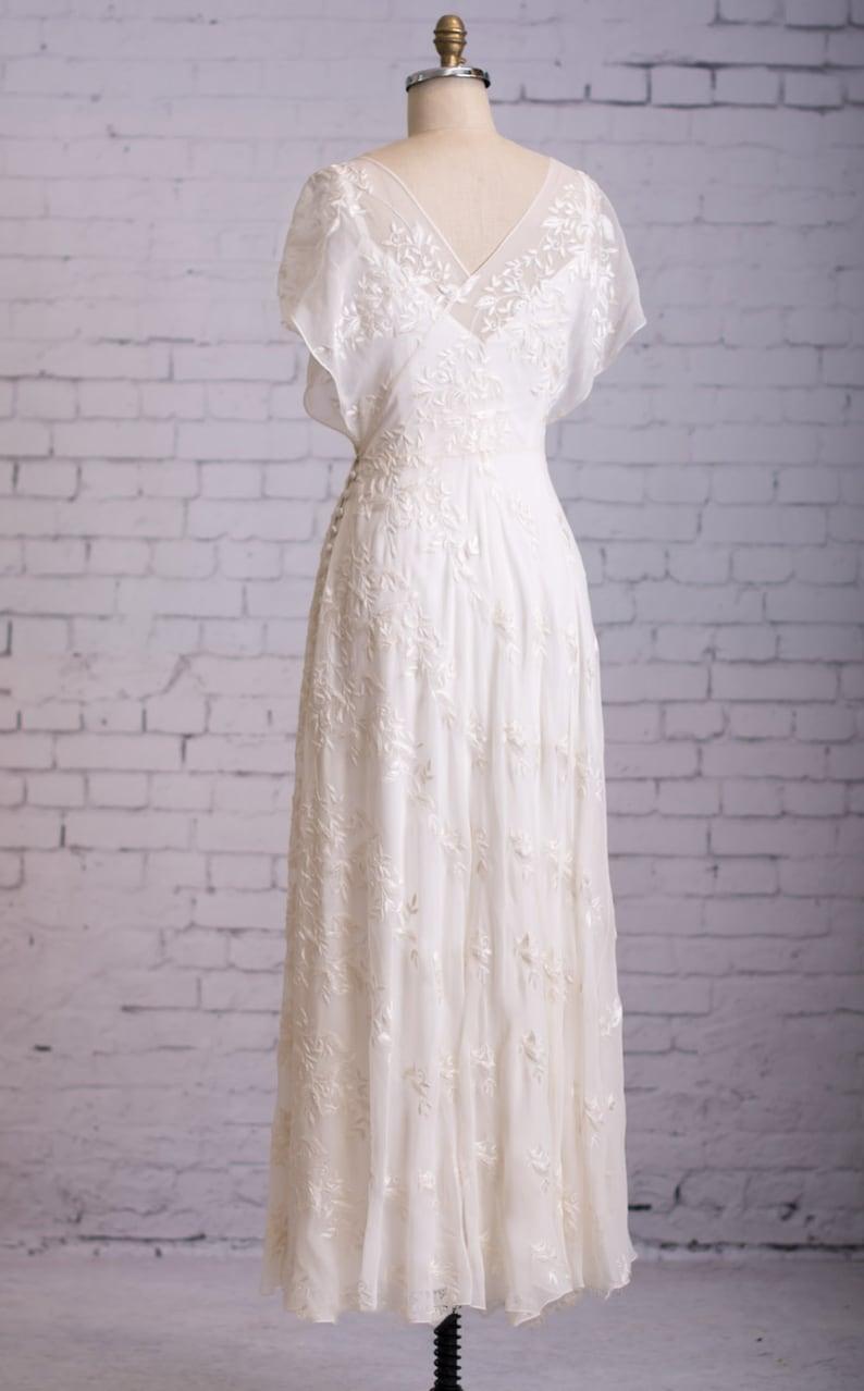 Casual Wedding Dress Simple wedding dress Backyard Wedding ...