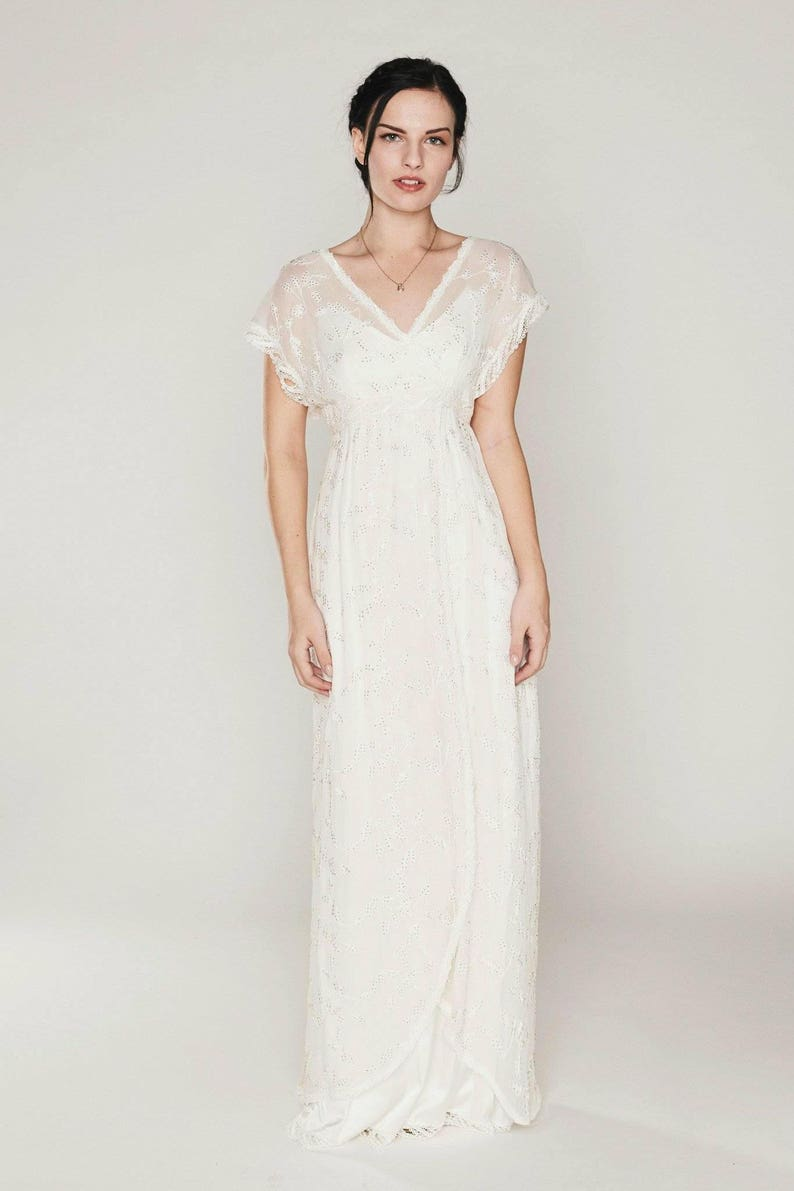 Casual Chiffon Wedding Dresses