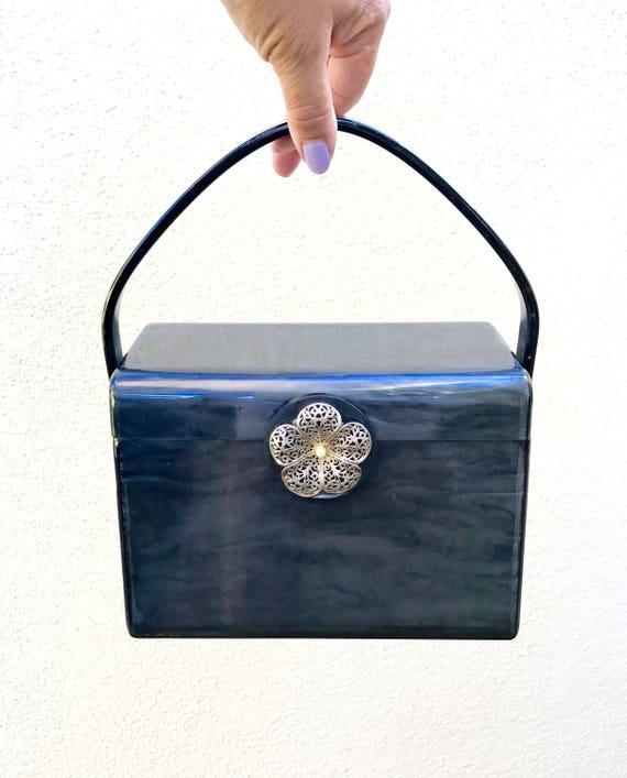 Lucite Bag Purse Black - Wilardy Lucite Purse Mint