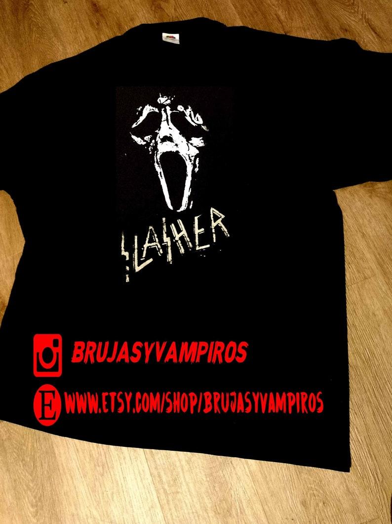ghostface, SCREAM, horror t - shirt, slasher, horror movie film, HORROR