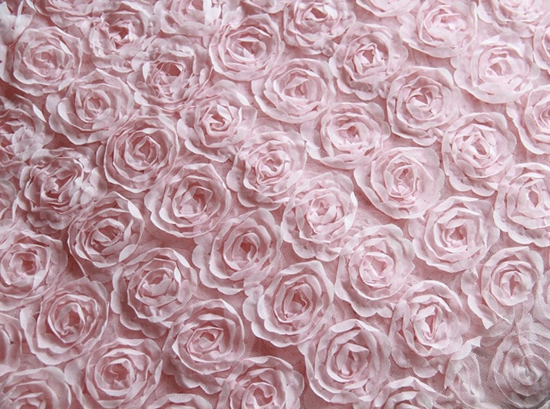 bridal lace fabric,3D flower lace fabric,fabric for bridal,for DIY dress,width 140 cm 86-6 Pinkblackmilk white wedding lace fabric