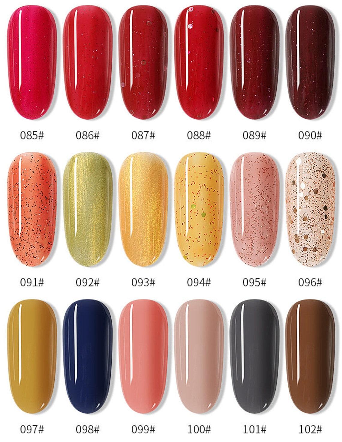120 colors Nail Stamping Polish 7.5ml Colorful Printing image 6