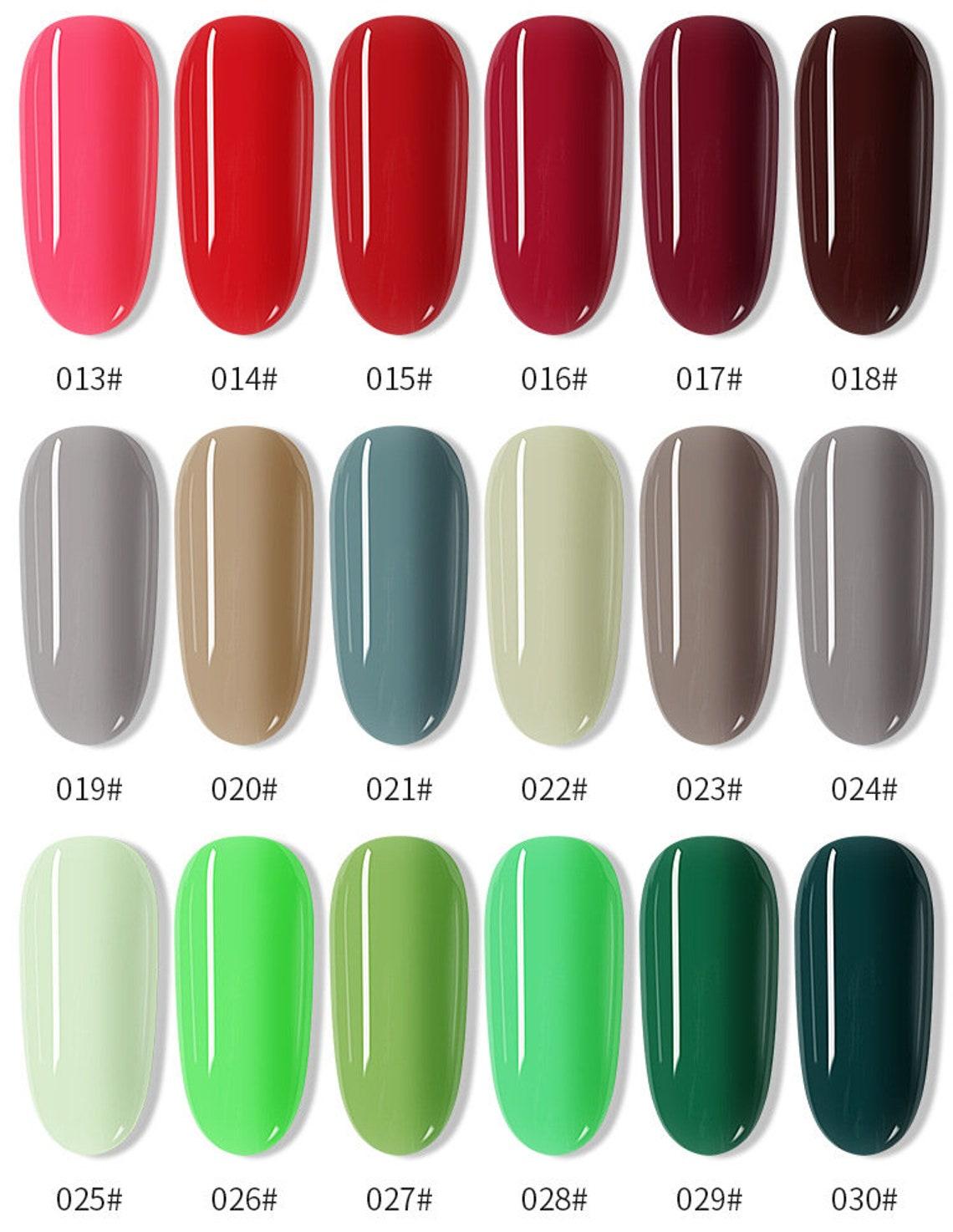120 colors Nail Stamping Polish 7.5ml Colorful Printing image 2