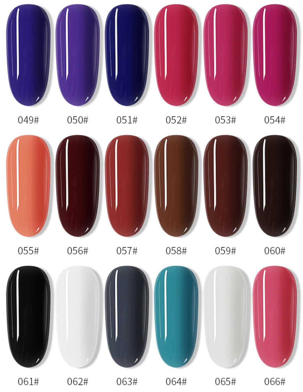 120 colors Nail Stamping Polish 7.5ml Colorful Printing image 4