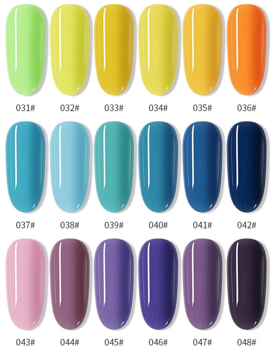 120 colors Nail Stamping Polish 7.5ml Colorful Printing image 3