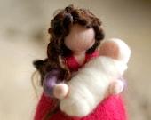 Mamy, Waldorf inspired tale, wool