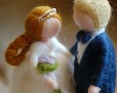 Newlyweds, fairy tale woo...
