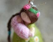 Custom Mamy Light Earring, fairytale wool, Waldorf-inspired