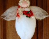 Christmas angel, wool fai...