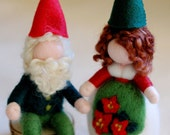 Couple Christmas gnomes, ...