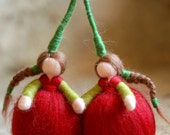 Cherries, Wool fairy tale...