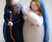 Nativity, fairy tale wool...