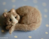 Kitty up, wool fairytale inspired Waldorf