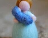 Mamy earring, fairytale wool, Waldorf-inspired