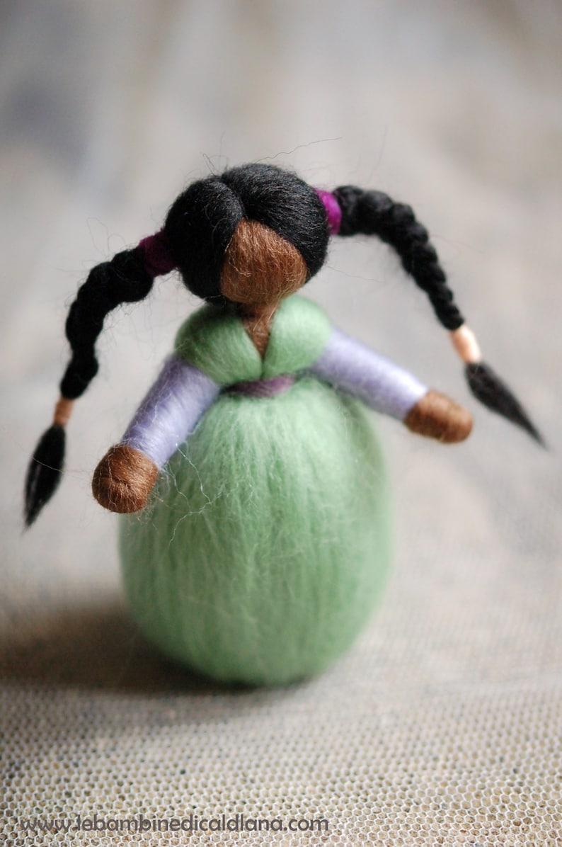 Manila Wool fairy tale Waldorf inspiration soft sculpture image 0