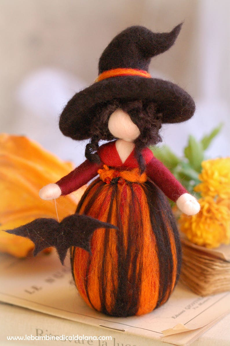 Magician wool fairy tale Waldorf inspiration image 0