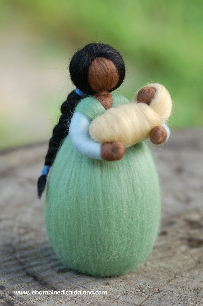 Mom wool fairytale inspired Waldorf image 0