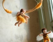 Giostrina API, Wool fairy tale, Waldorf inspiration