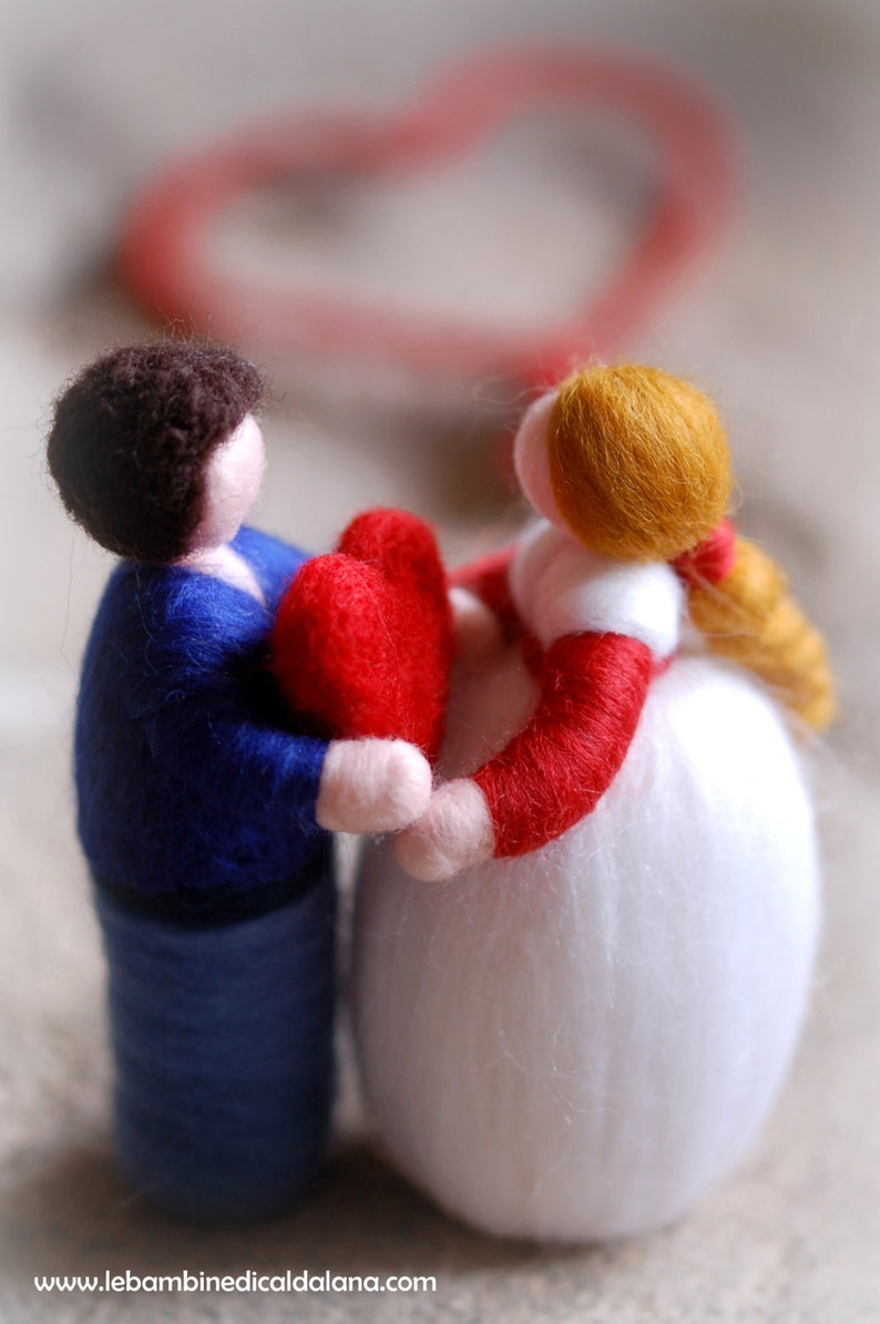 Valentine's Day in love wool fairytale inspired by image 0