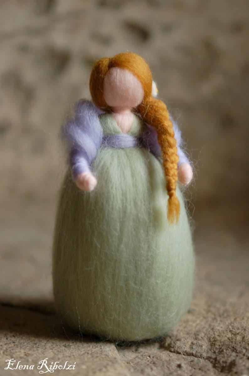 Daphne wool fairytale inspired Waldorf image 0