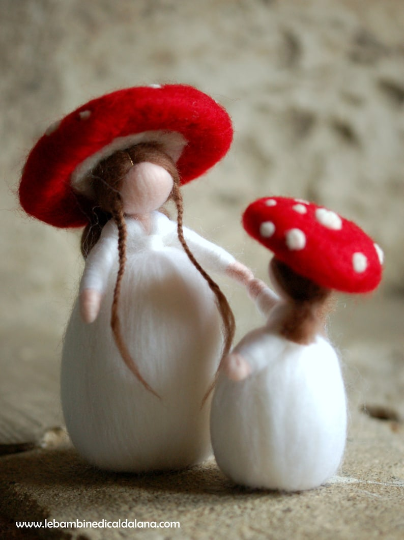 Mushrooms wool Wladorf tale inspiration image 0