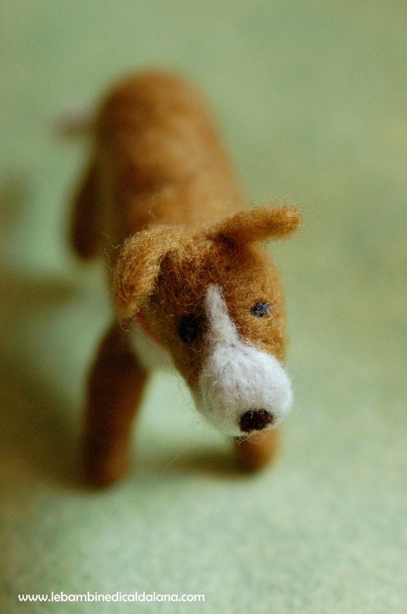 Puppy wool fairytale inspired Waldorf image 0