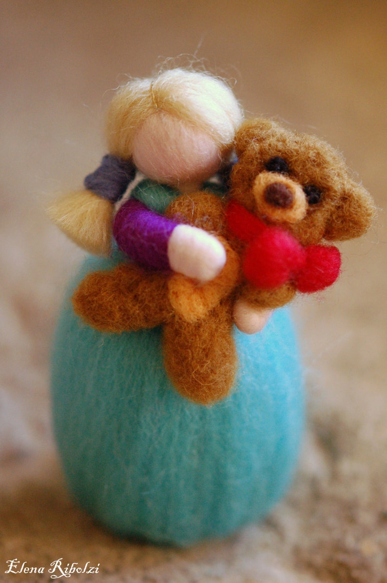 Ely & Camillo Waldorf inspired fairytale wool image 0