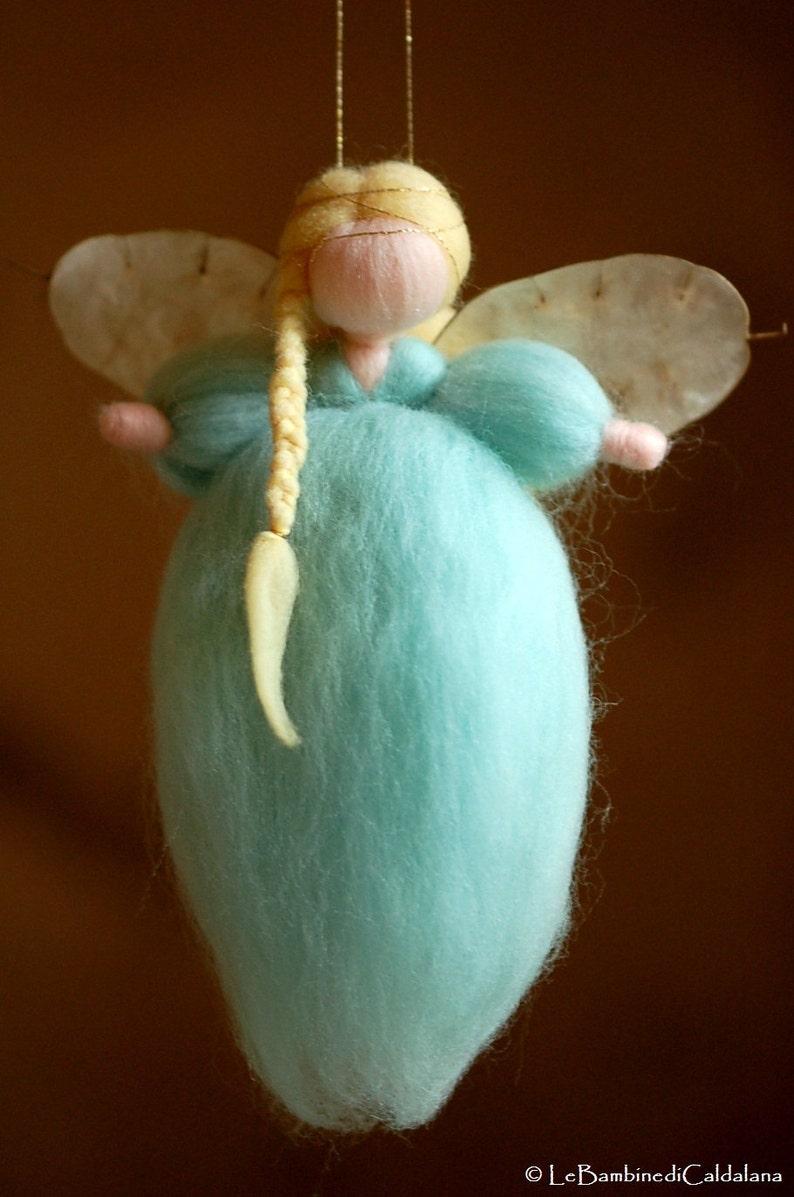 Soft angel sugar wool fairy tale Waldorf inspiration home image 0