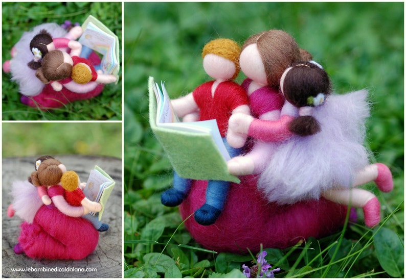 Once upon a time... in fairy tale wool Waldorf inspiration image 0