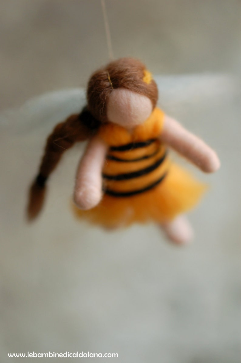 Bees wool fairy tale Waldorf inspiration image 0